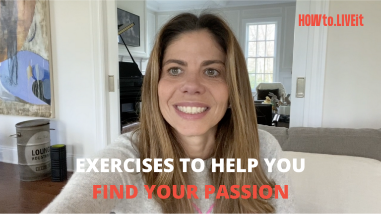 Exercises to Help You Find Your Passions