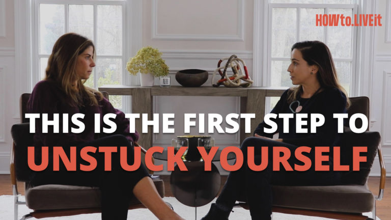 This Is The First Step to Unstuck Yourself