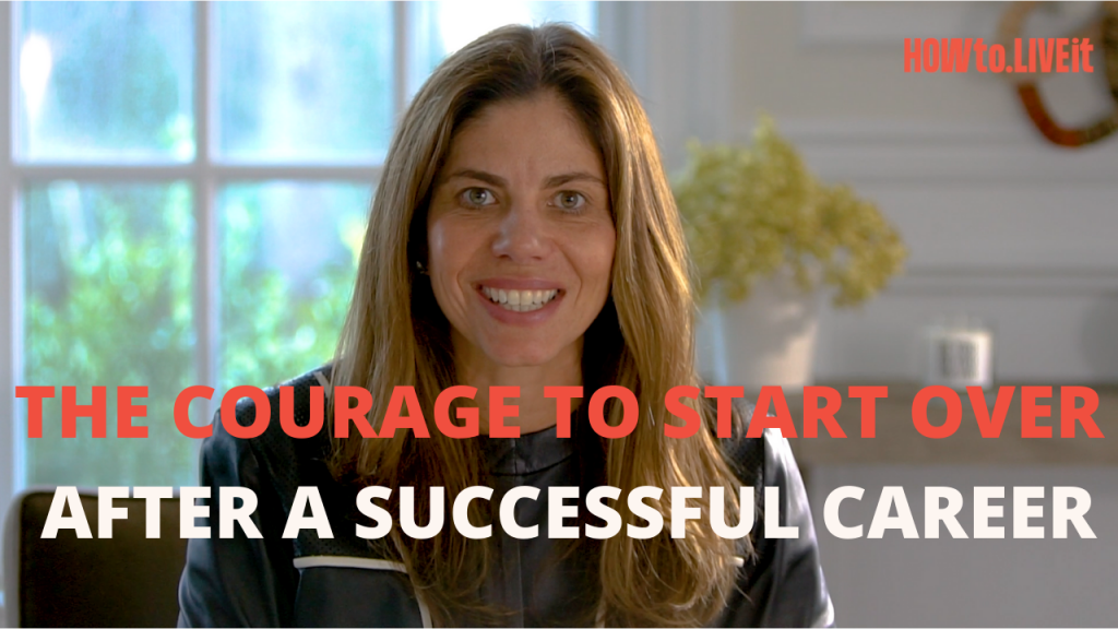 The Courage to Start Over After a Successful Career